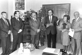 Die Dr. Wolfbauer-Stiftung wird gegründet