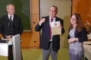 Ärztin erhält Förderpreis der Dr. Wolfbauer-Stiftung